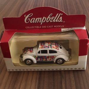 Campbell's Soup VW 1952 Bettle Die Cast Model Car